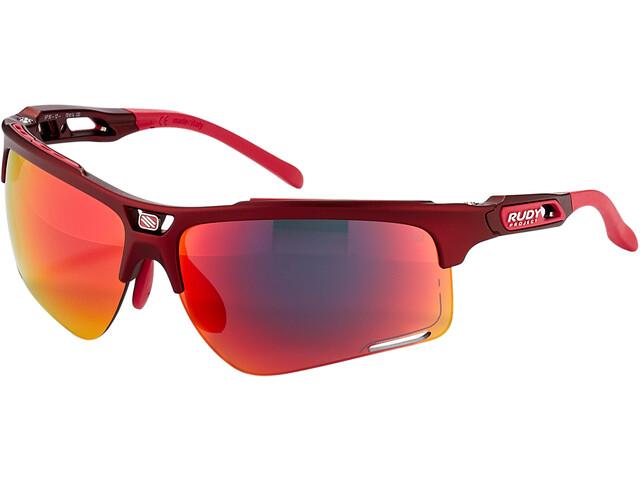 Rudy Project Keyblade Glasses merlot matte/multilaser red